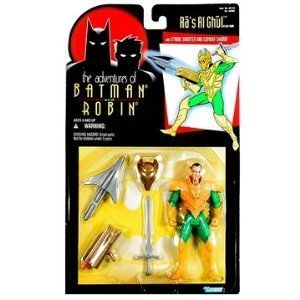 Adventures of Batman and Robin Ras Al Ghul action figure Generic