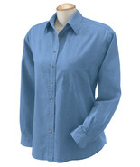 WOMENS Long Sleeve DENIM SHIRTS Wholesale Shirt... - $18.88