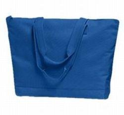 24 NEW Blank Solid Color ZIPPER TOTE BAGS Crafts TOTES Bonanza