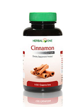 CINNAMON Reduces Blood Sugar, For a healthy blood sugar level 100 Capsules - $13.99