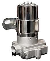 A-Team Performance 30-155 Chrome Electric Inline Fuel Pump 12V 155 GPH at 14PSI