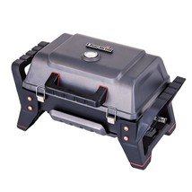 Portable Barbecue Grill with TRU-Infrared Technology Grey Cast Aluminium... - $204.40