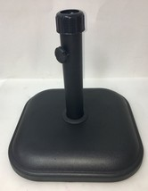 Patio Umbrella Base in Black 26 lbs. Model DTH11-B-BK - New - Free Shipp... - $59.99
