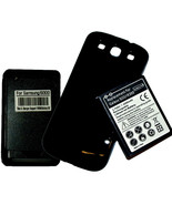EXTENDED Battery with cover+Charger for Samsung Galaxy SIII S3 i9300 T99... - $23.99