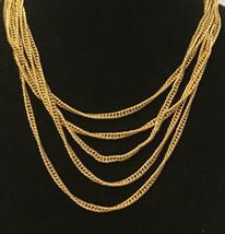 """vintage monet necklaces goldtone 16"""" Long - $4.95"""