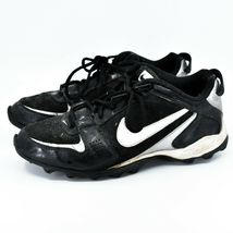 Nike Land Shark Legacy Boy's Youth Kids Black & White Football Cleats Size 6Y image 3