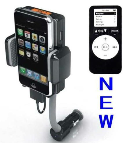 Primary image for FM Transmitter & Car Charger for iPod touch Iphone Nano 2 3 3Gs 4 4s classic 5