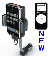 FM Transmitter & Car Charger for iPod touch Iphone Nano 2 3 3Gs 4 4s cla... - $26.02