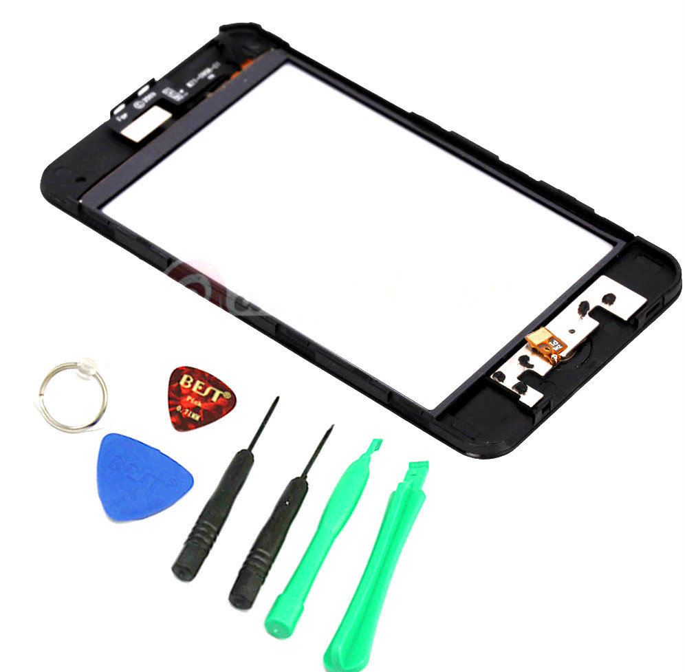 Primary image for GLASS SCREEN DIGITIZER with frame REPLACEMENT for IPOD TOUCH 3RD gen 3g 3 A1318