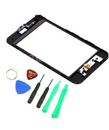 GLASS SCREEN DIGITIZER with frame REPLACEMENT for IPOD TOUCH 3RD gen 3g ... - $31.20