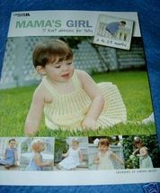 Mamas Girl 5 Knit Dresses for Baby  6 mons to 24 mons - $5.50