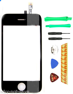LCD Touch Screen Digitizer Glas replacement for iphone 3GS 3 G S A1303 MB715LL/A for sale  USA