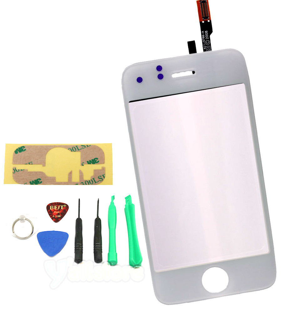 Primary image for LCD Touch Screen Digitizer Glas replacement for iphone 3GS 3 G S A1303 white new