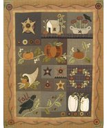 Hearts to Hands Primitive Pattern # 293, 294 and 295 Autumn Quilt  - $24.99
