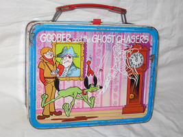 vintage 1974 thermos king-seeley goober and the ghost chasers metal lunc... - $35.00
