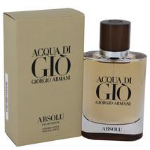 Giorgio Armani Acqua Di Gio Absolu 2.5 Oz Eau De Parfum Cologne Spray - $99.87
