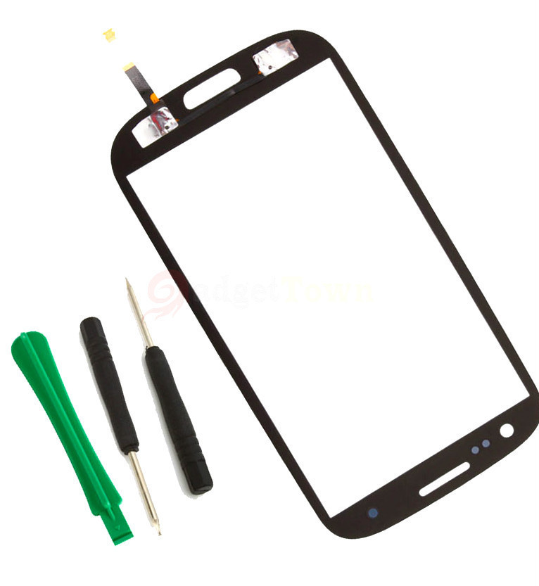 Primary image for Touch Screen Glass digitizer replacement for GREY SamSung GALAXY s3 s III i9300