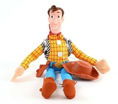 Great Toy Story Movie Plush Cowboy Woody 16 inch Tall Sitting Doll toy - $13.57