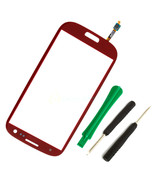 Touch Screen Glass digitizer replacement for red SamSung GALAXY s3 s III... - $33.99