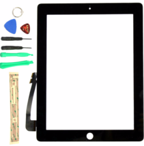 Touch Screen Glass screen Digitizer Replacement for Ipad 4 4g A1460 A1458 A1459 - $34.63