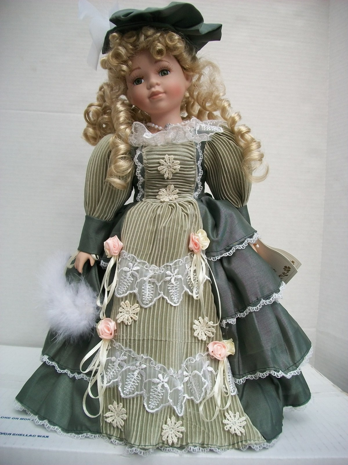 "Le Jardine ""Amy"" Hand Made Porcelain Doll and 50 similar items"