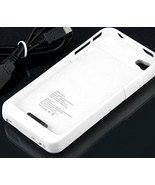 white External Backup Battery Charger Case For Verizon at&t gsm Iphone 4... - $21.99