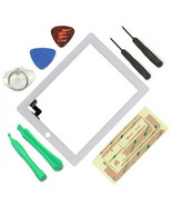 white Touch Screen Glass screen Digitizer Replacement for ipad 2 2nd a13... - $27.49
