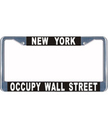 Occupt Wall Street License Plate Frame (Stainless Steel) - $13.99