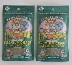 The Cat's Meowee Organic Catnip Premium Grade New (2 Packs) - $8.79