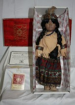 """Running Deer ~ 14"""" Porcelain Doll ~ Dynasty Doll Collection - $30.26"""