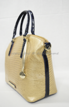 NWT Brahmin Duxbury Satchel/Shoulder Bag in Pharoah Lizard Tri-Texture - $249.00