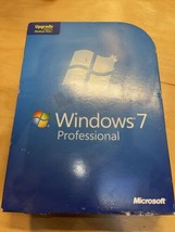 Microsoft Windows 7 Professional 32 & 64 Bit DVD Key Included but May be in use - $71.96