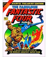 """Marvel Comics """"Fantastic Four"""" Treasury Edition Comic Cover Stand-Up Dis... - $16.99"""