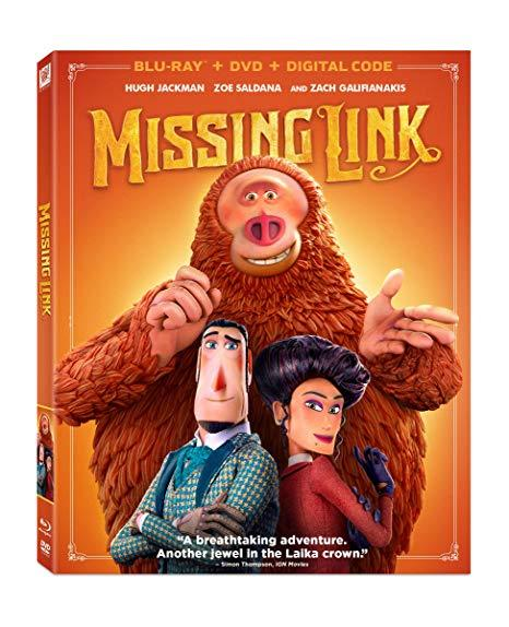 Missing Link (Blu-ray + DVD + Digital)