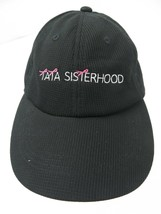 Tata Sisterhood Breast Cancer Black Adjustable Adult Cap Hat - $12.86