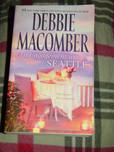 Debbie Macomber An Engagement In Seattle Paperback 2011 image 1