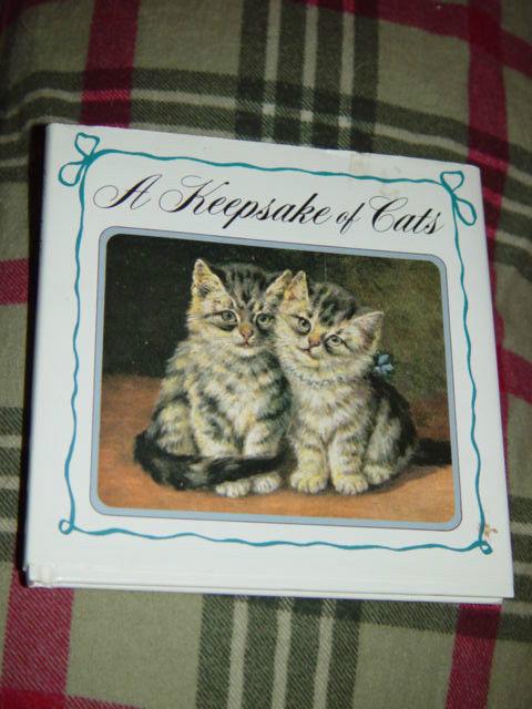 A Keepsake Of Cats  Hardcover 1992