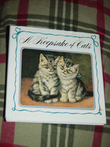 A Keepsake Of Cats  Hardcover 1992 image 1