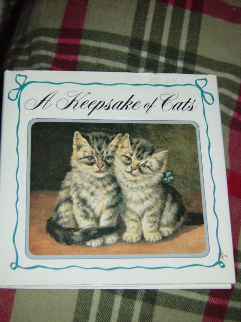A Keepsake Of Cats  Hardcover 1992 image 3