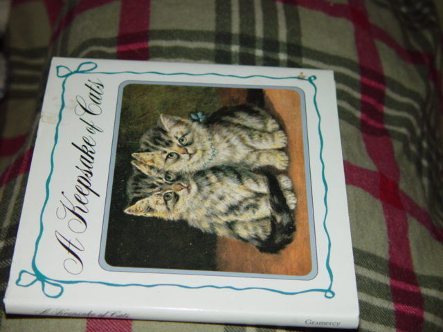 A Keepsake Of Cats  Hardcover 1992 image 5