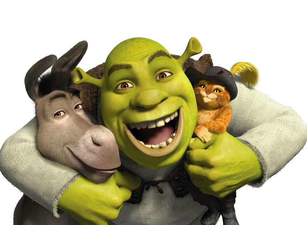 Shrek 5 x 7 Color Photo