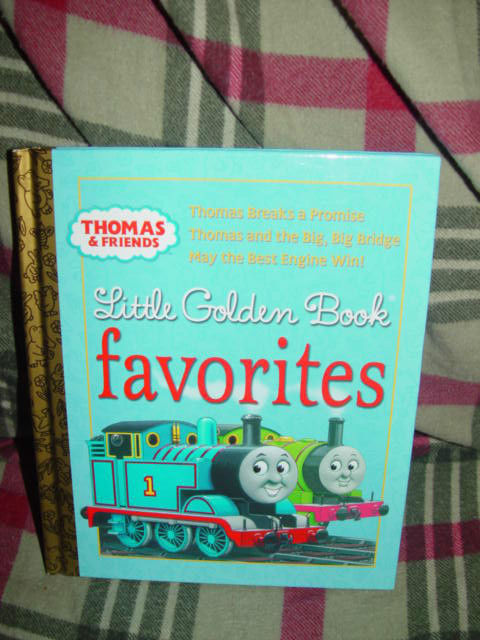 Thomas and Friends Little Golden Book Favorites Thomas Breaks a Promise image 2