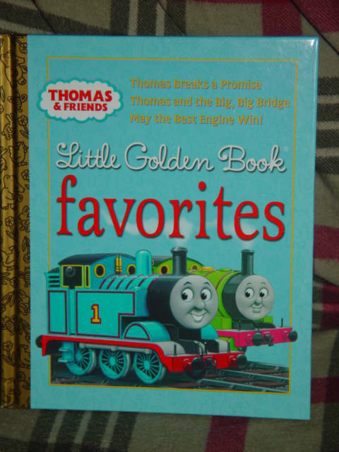 Thomas and Friends Little Golden Book Favorites Thomas Breaks a Promise