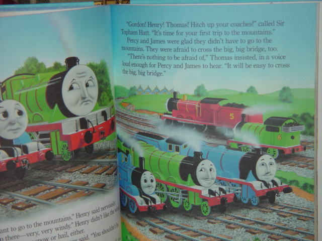 Thomas and Friends Little Golden Book Favorites Thomas Breaks a Promise image 4