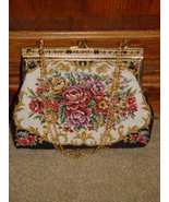 Handbag With Gold Trim and Chain - $28.00