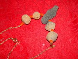 Genuine Handmade Clay Mummy Necklace image 1