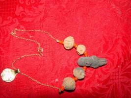Genuine Handmade Clay Mummy Necklace image 2