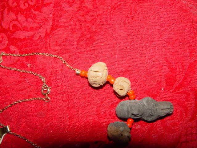 Genuine Handmade Clay Mummy Necklace image 7