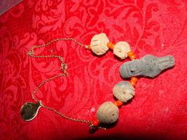 Genuine Handmade Clay Mummy Necklace image 8