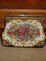 Handbag With Gold Trim and Chain image 5